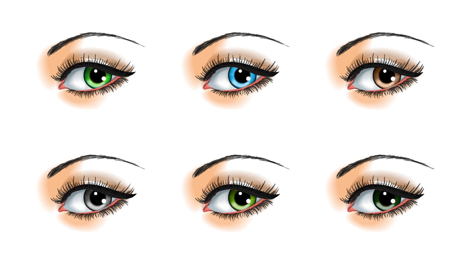 Kleur ogen